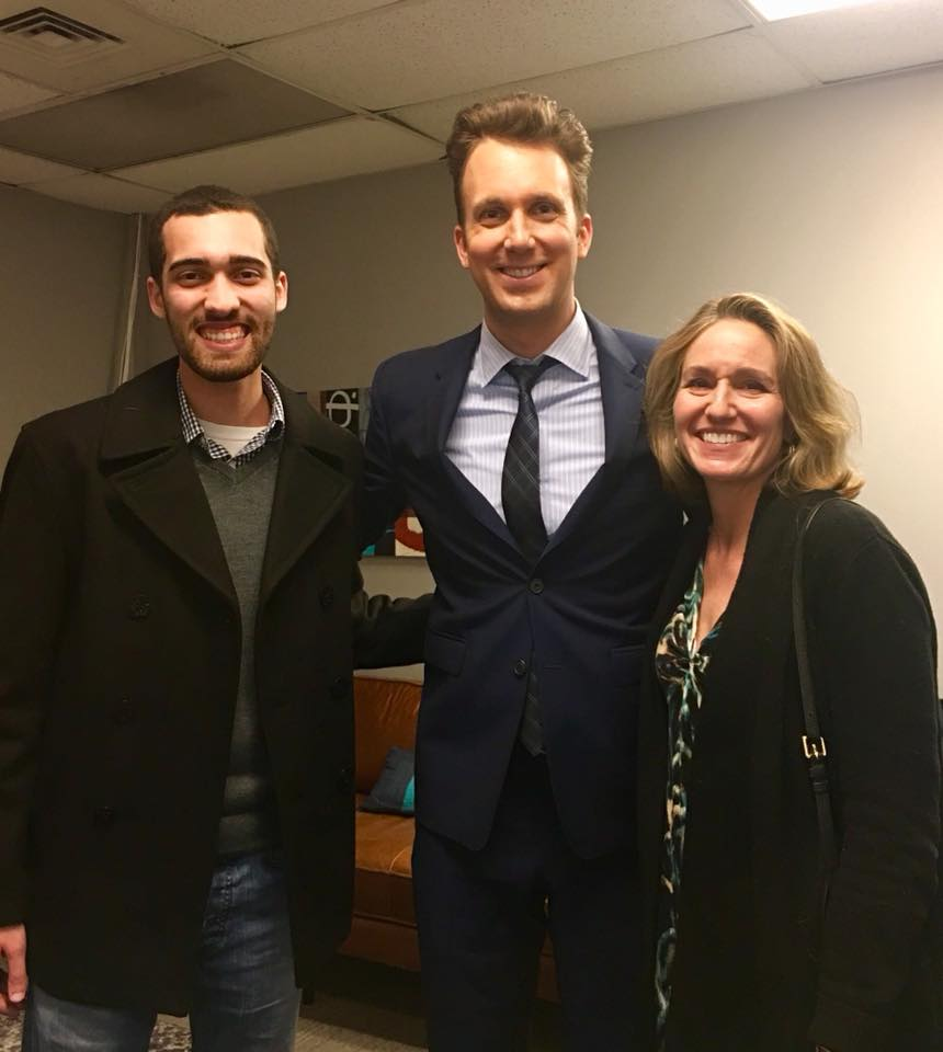 Backstage with Jordan Klepper