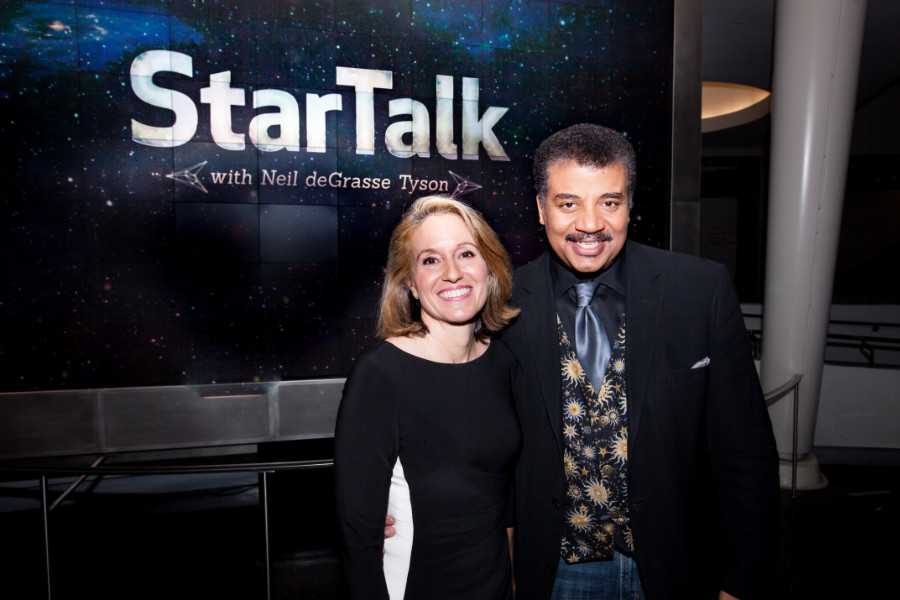 Startalk episode on Stephen Colbert