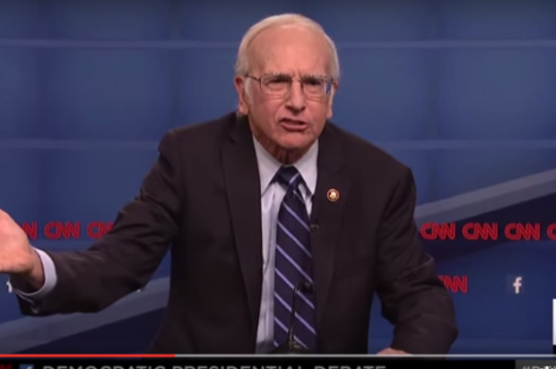 Larry David Saved Bernie Sanders Snl Impression Made Him Human Likable  After a Rough Debate With Hillary Clinton
